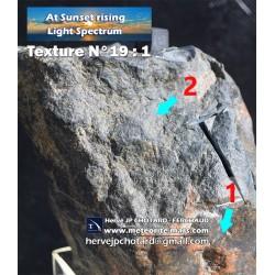 Texture N°19 - meteorite crust fresh