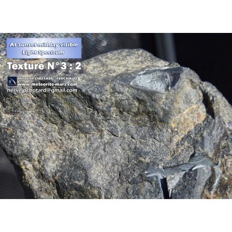Texture N°3 - Martian meteorite