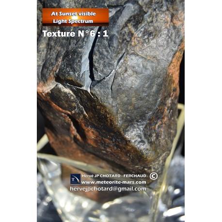 Texture N°6 -Martian meteorite