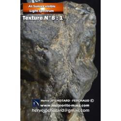 Texture N°8 - Météore parcourt l'atmosphère terrestre