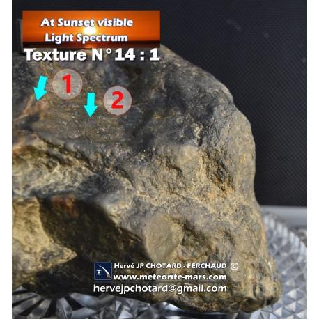 Texture N°14 - Oriented meteor