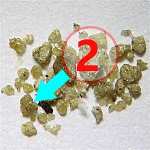 Texture comparative N18-3-2 météorite de Chizé www.meteorite-mars.com