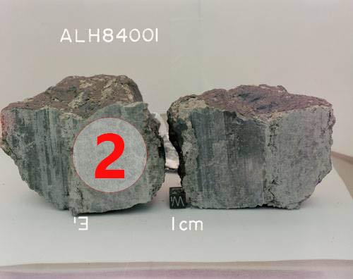 Texture comparative n 20-1-2 meteorite-mars.com meteorite chizé de mars
