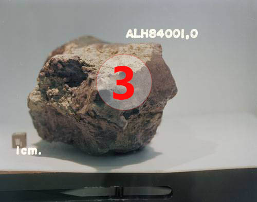 Texture comparative n 20-1-3 meteorite-mars.com meteorite chizé de mars