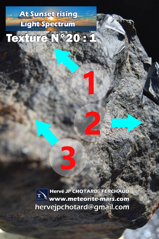 Texture n 20-1 meteorite-mars.com meteorite chizé de mars