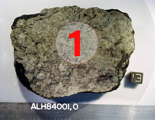 texture comparative n 20-2-1 meteorite-mars.com meteorite chizé de mars
