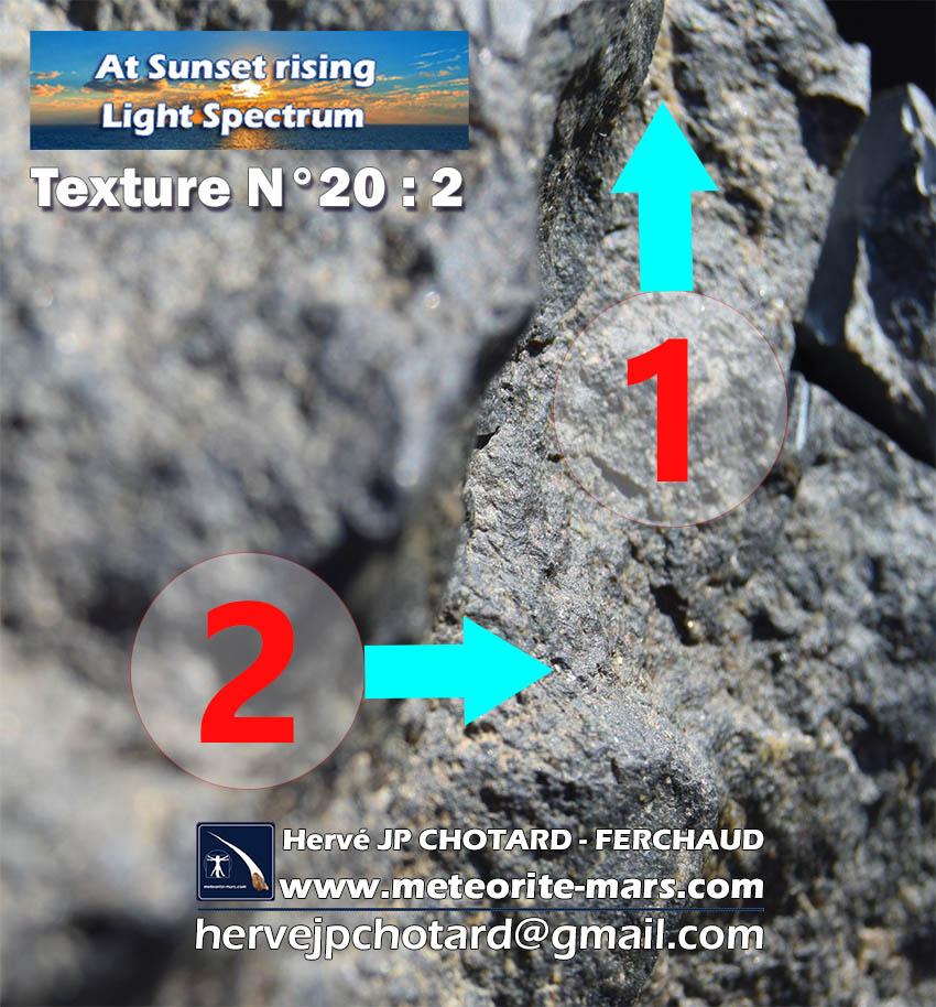 Texture n 20-2 meteorite-mars.com meteorite chizé de mars