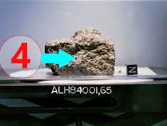 Texture comparative n 20-3-4 meteorite-mars.com meteorite chizé de mars