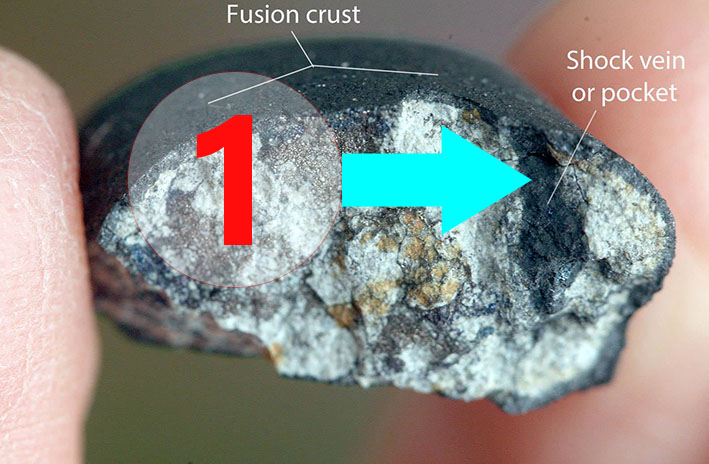 Texture comparative n21-1-1 meteorite-mars.com
