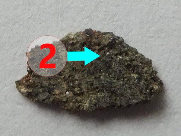 Texture comparative n21-1-2 meteorite-mars.com