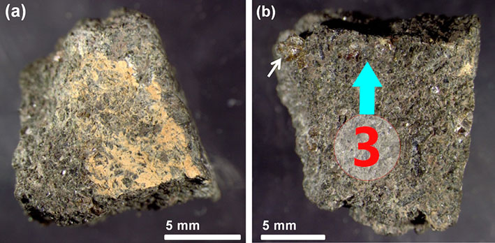Texture comparative n21-1-3 meteorite-mars.com
