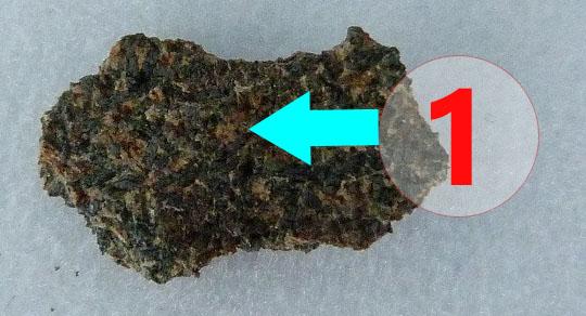 Texture comparative n22-1-1 meteorite-mars.com