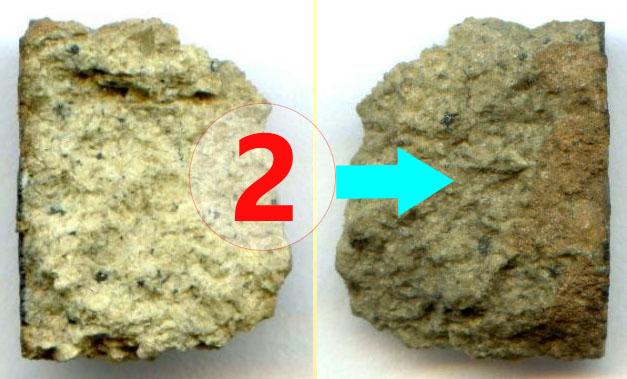 Texture comparative n22-2-2 meteorite-mars.com