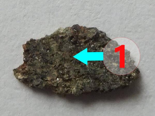 Texture comparative n22-3-1 meteorite-mars.com